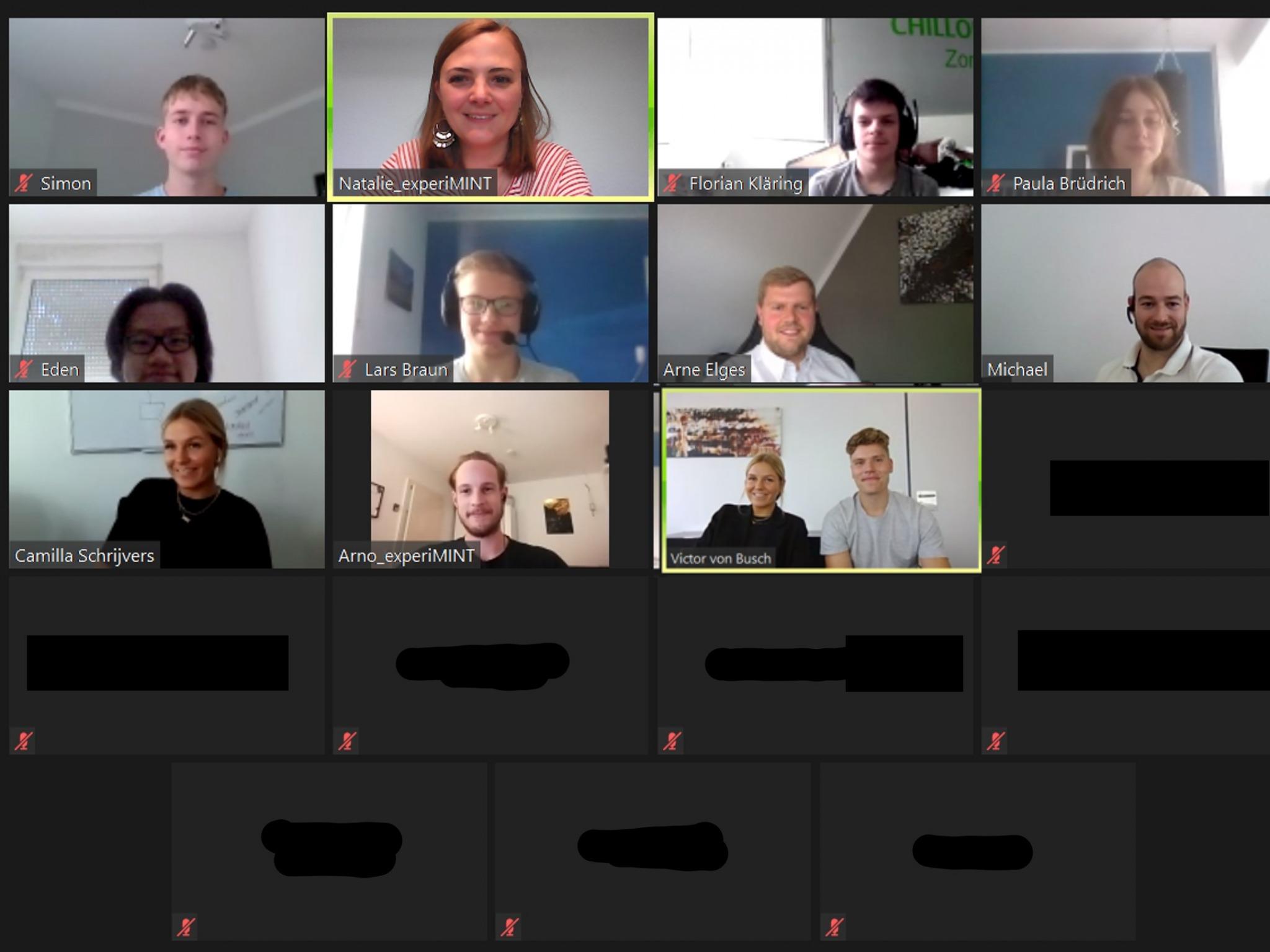 Lernen von Junior Berater:innen – ExperiMINT Projekt bei vonBusch